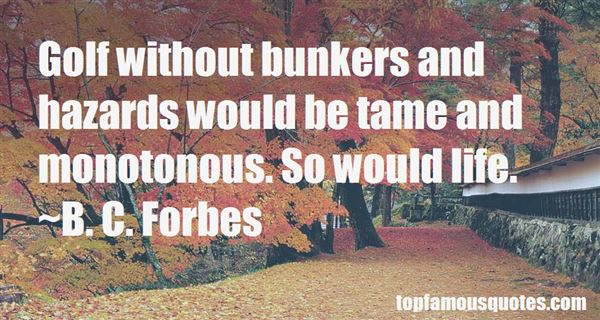 Quotes About Bunkers