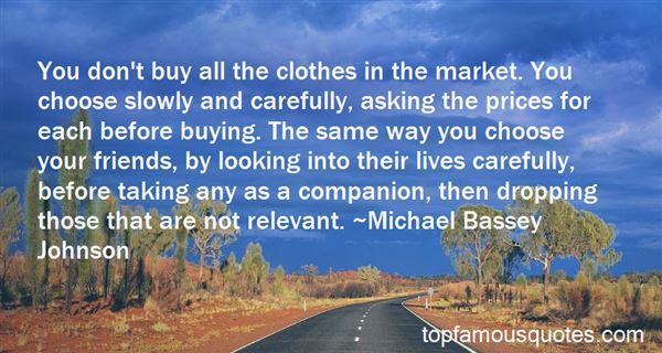 Quotes About Buying Friends