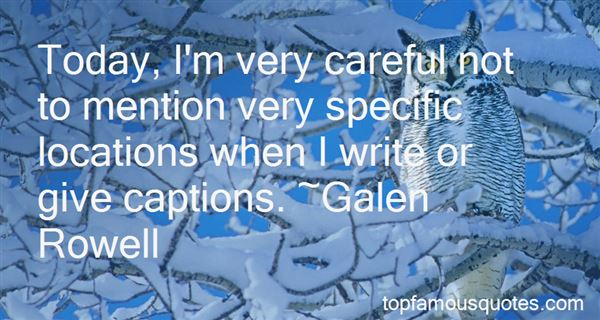 Quotes About Captions