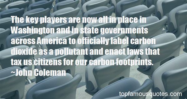 Quotes About Carbon Footprints