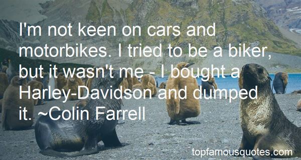 Quotes About Cars And Bikes