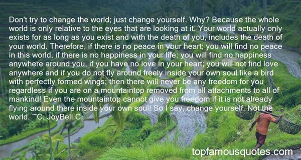 Quotes About Change And Happiness