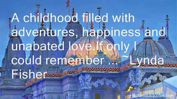 Quotes About Childhood Happiness