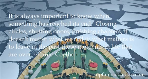 Quotes About Closing Circles