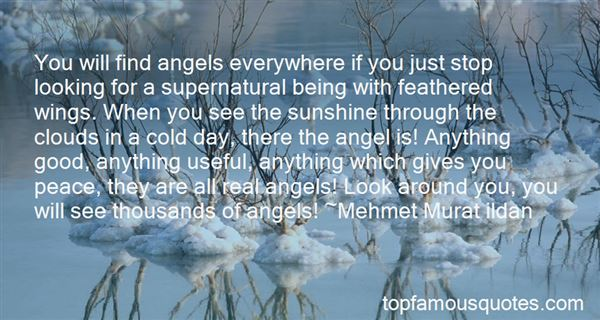 Quotes About Clouds And Angels