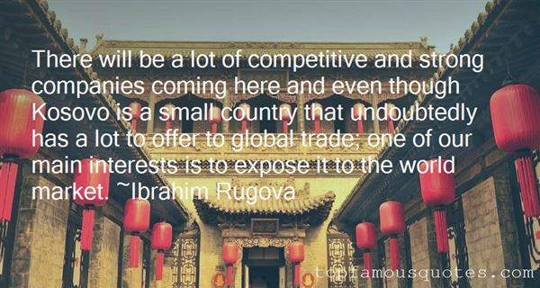Quotes About Competitive World