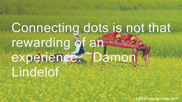 Quotes About Connecting Dots