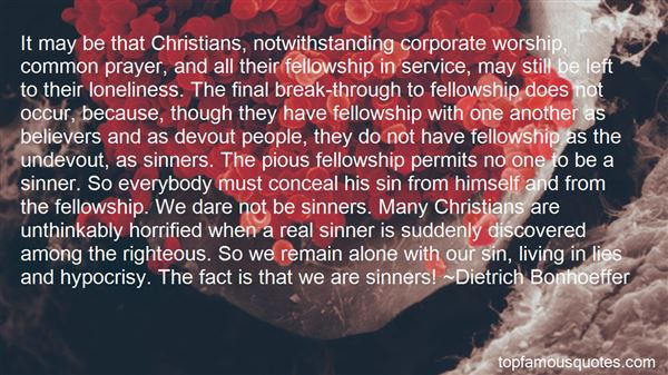 Quotes About Corporate Prayer