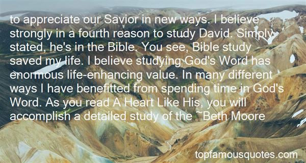 Quotes About David In The Bible