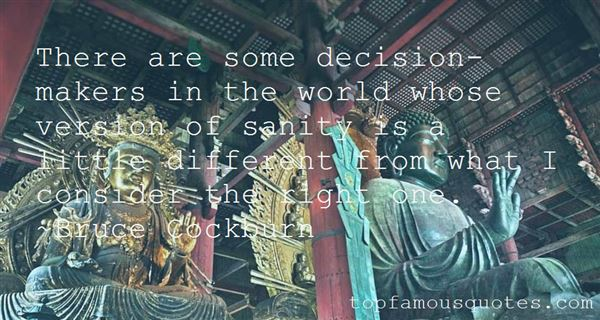 Quotes About Decision Makers