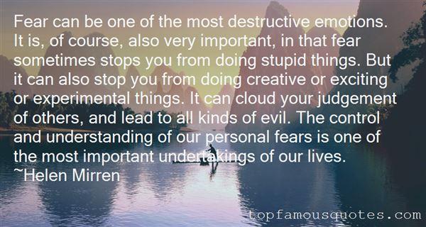 Quotes About Destructive Person