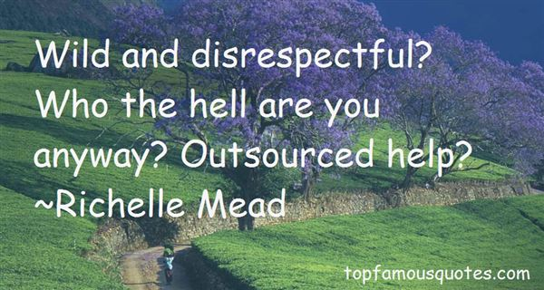 Quotes About Disrespectful