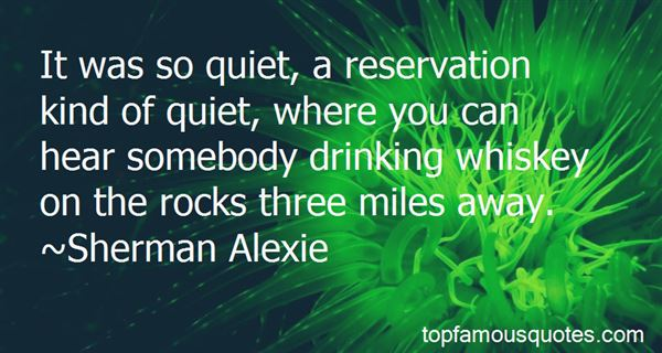 Quotes About Drinking Whiskey