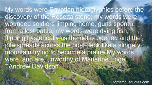 Quotes About Egyptian Soldiers