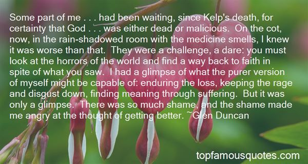 Quotes About Enduring Loss