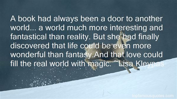 Quotes About Fantasy And Magic
