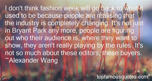 Quotes About Fashion Buyers