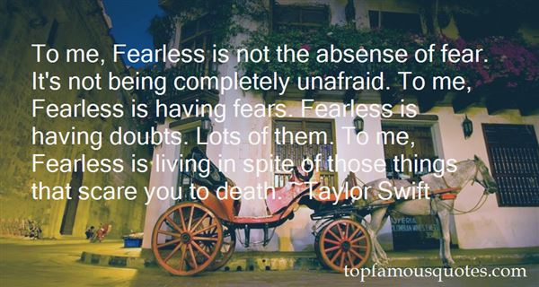 Quotes About Fearless Death