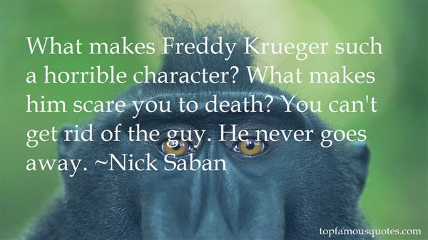 Quotes About Freddy Krueger
