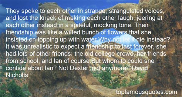 Quotes About Friendship In College