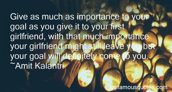 Quotes About Give Importance