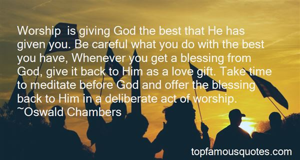 Quotes About Giving Back To God