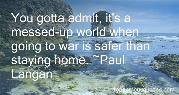 Quotes About Going To War