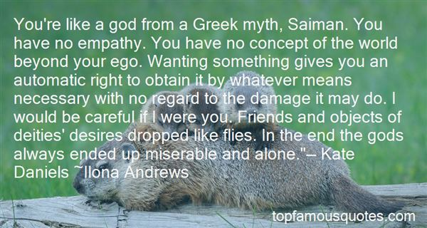Quotes About Greek Gods