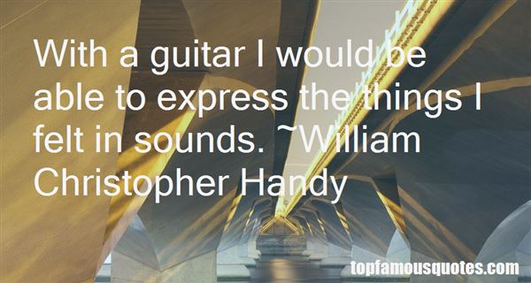 Quotes About Guitar Sound