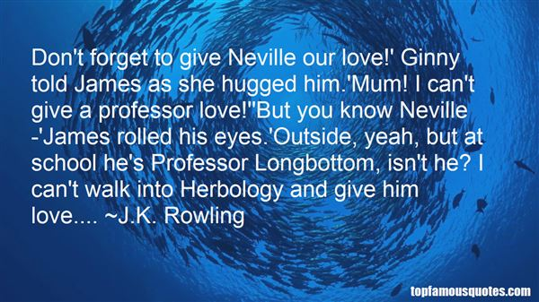 Quotes About Herbology