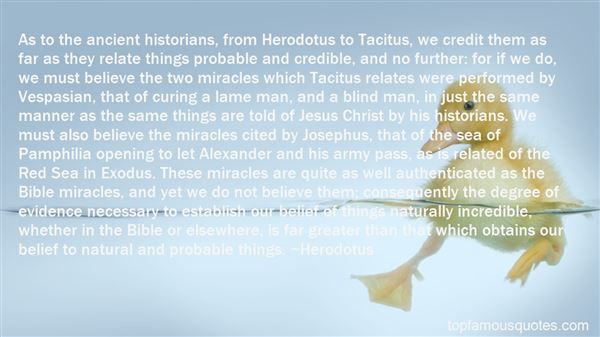 Quotes About Herodotus