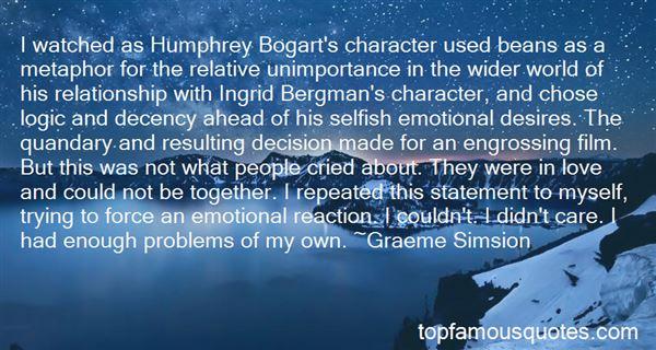 Quotes About Ingrid Bergman