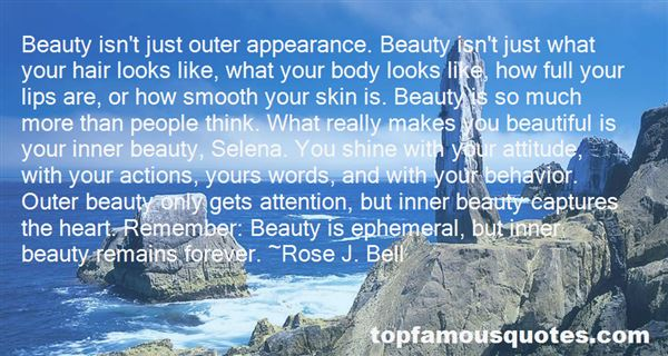 Quotes About Inner Outer Beauty