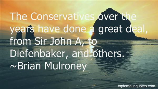 Quotes About John Diefenbaker