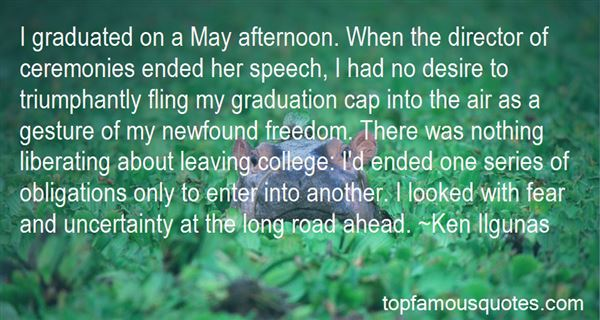 Quotes About Leaving College