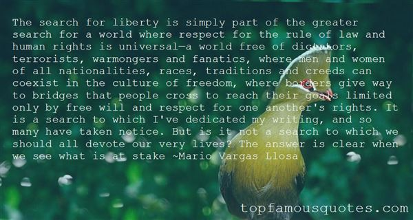 Quotes About Liberty And War