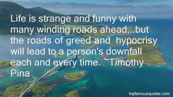 Quotes About Life And Winding Roads