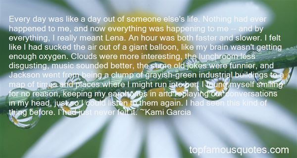 Quotes About Life Happening Fast