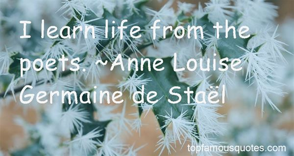 Quotes About Life Poets