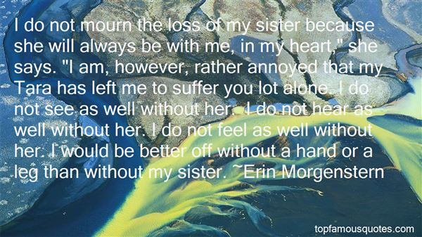 Quotes About Loss Of A Sister