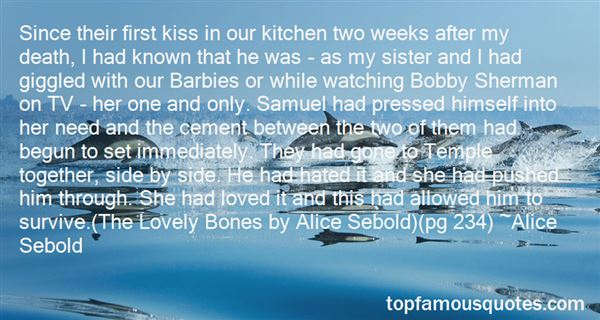 Quotes About Lovely Bones
