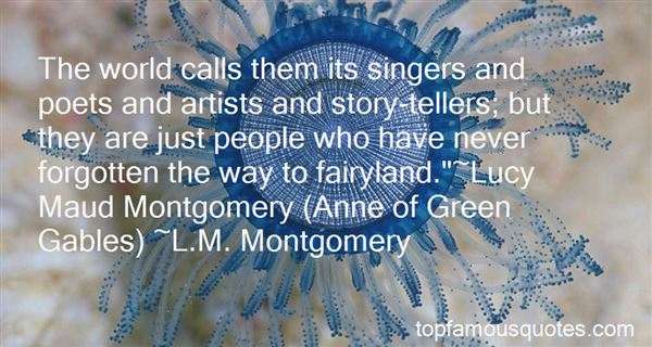 Quotes About Lucy Maud Montgomery