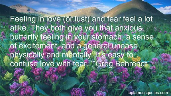 Quotes About Lust Love