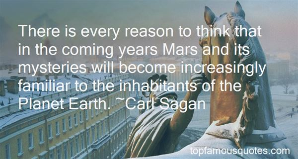 Quotes About Mars Planet