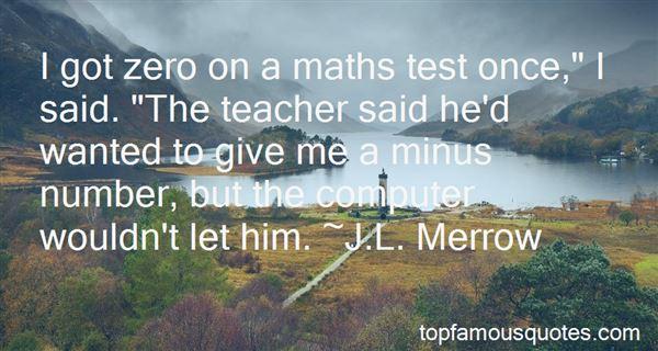 Quotes About Maths Teacher