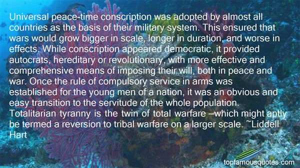 Quotes About Military Conscription