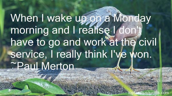 Quotes About Monday Morning Work