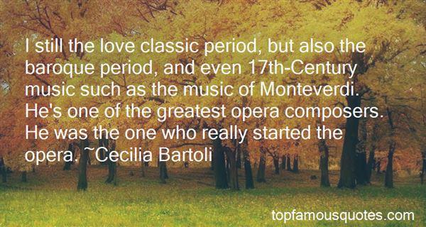 Quotes About Monteverdi