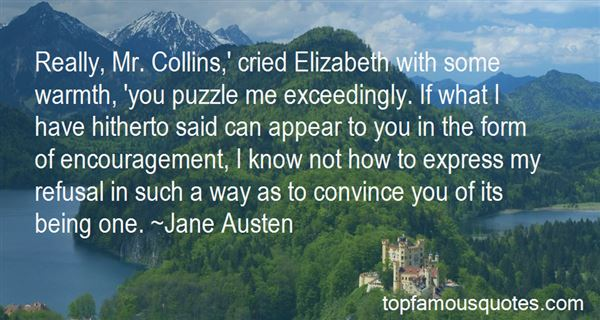 Quotes About Mr Collins