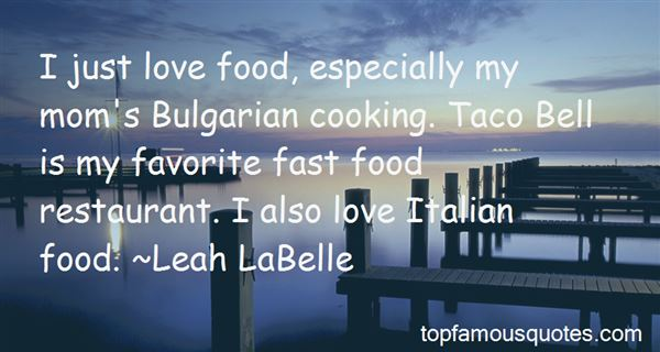 Quotes About My Favorite Food